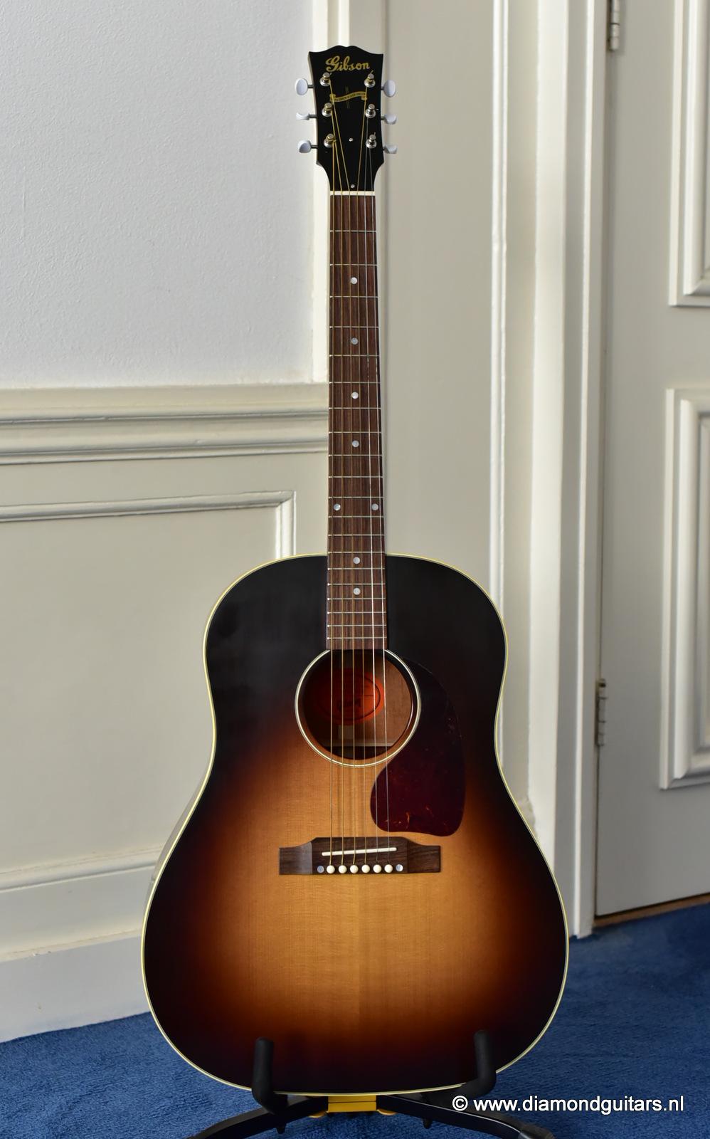 gibson j 45 true vintage sold diamond guitars. Black Bedroom Furniture Sets. Home Design Ideas