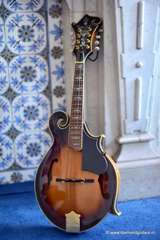 1999 Samick SM-50S Style F Bluegrass Mandoline (SOLD)
