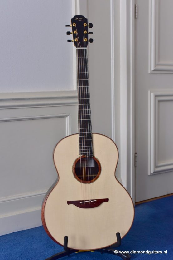 Lowden F50 African Blackwood - Adirondack Red Spruce (new)
