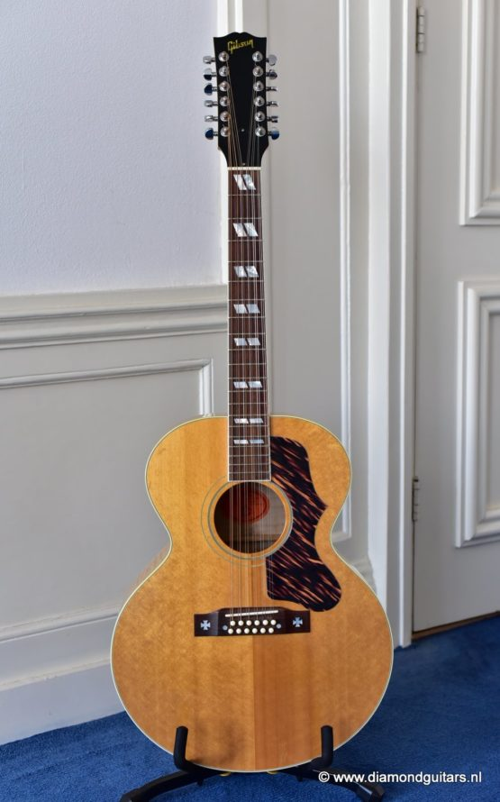 Gibson J-185 12-string Big Leaf Maple - Sitka Spruce (2001)