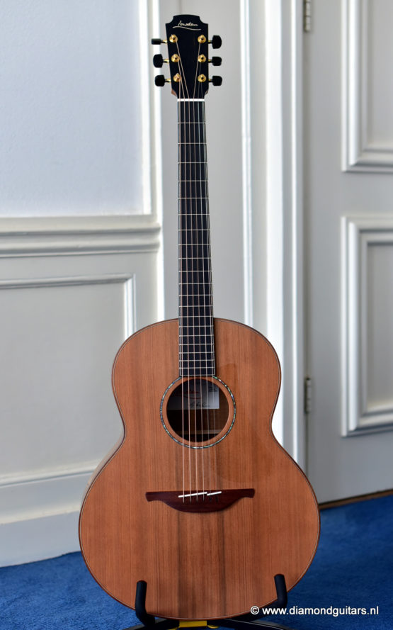 image of lowden F35 koa sinker redwood